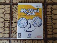 Nintendo Wii 'My Word Coach'