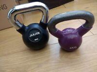 Kettle bells X2 weight toning equipment £7 Southend