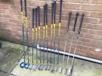 Full set of Golf Mitsushiba M575 Graphite shafts Clubs