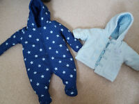 baby boy clothes (newborn and 0 - 3 months)