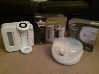 Tommee Tippee Perfect Prep machine and microwave steriliser