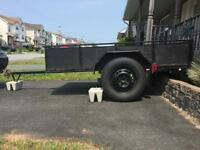 Trailer 5 x 8 (dumps, integrated loading ramps)