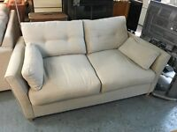JOHN LEWIS SOFA BED AND MATCHING TWO SEATER SOFA