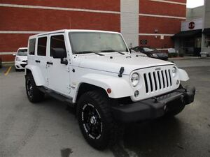 2015 Jeep WRANGLER UNLIMITED Sahara - Soft Top available