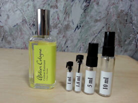 Atelier Cologne - Cedrat Enivrant fragrance samples and decants - HelloScents