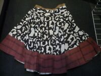 Ladies DKNY swing skirt