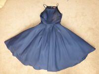 Bridesmaid dress - dark blue - size 12