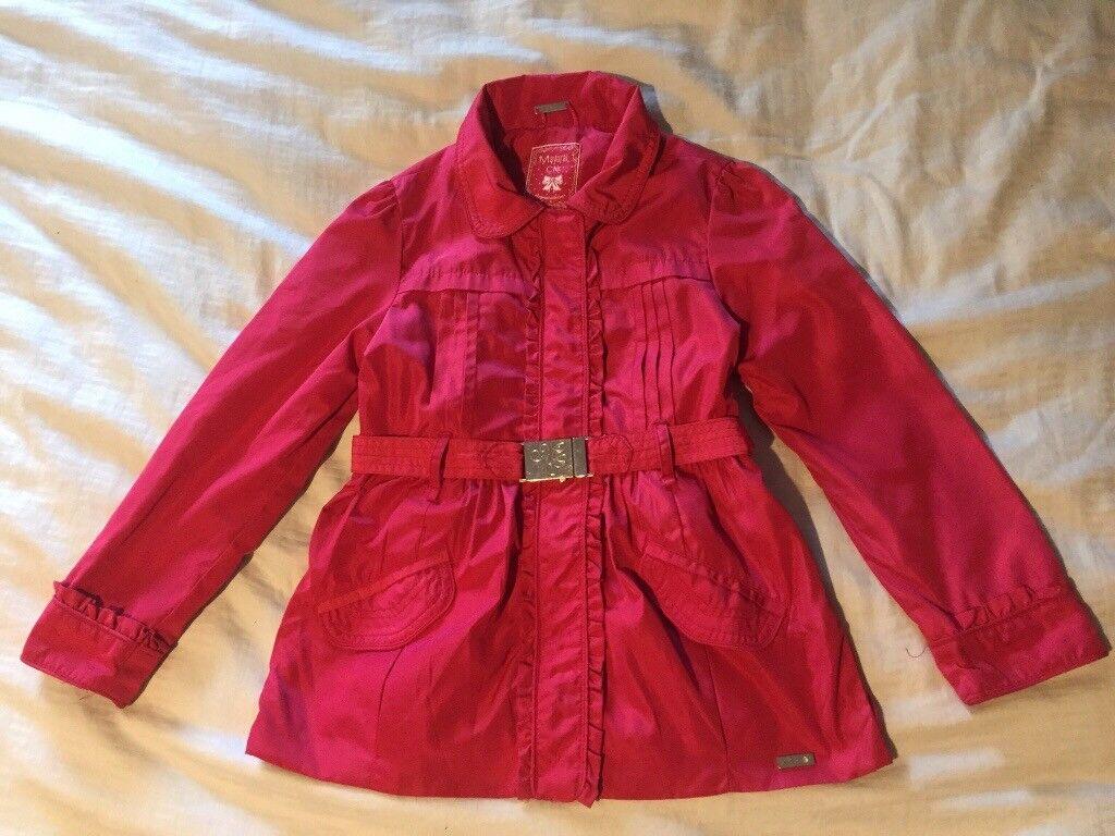 Gorgeous girls designer mayoral jacket age 7