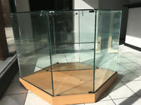 Glass Display Cabinet (buy this one get another free)