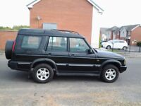 Land Rover Discovery automatic excellent condition for year 7 seater mot till oct