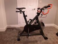 Kettler exercise bike, with multiple programs.