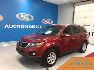 2013 Kia Sorento LX, BLUETOOTH, HEATED SEATS, FINANCE NOW!