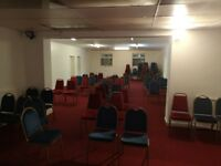 HALL AVAILABLE FOR HIRE EVENTS, PARTIES CONFERENCES, SEMINARS, ETC...
