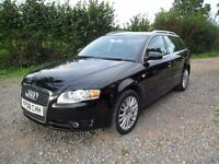 2008 AUDI A4 AVANT 2.0 TDi-SE-6'SPEED MANUAL--12 MONTHS MOT