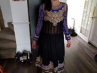 Indian, Pakistani party dress ( stitched )