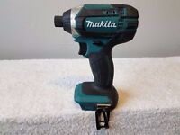 MAKITA DTD152 18v LXT LI-ION IMPACT DRIVER, body only, mint condition, i can supply batts/charger.