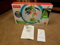 Fisher price rainforest musical cot mobile