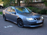 FINANCE AVAILABLE! 2007 SAAB 93 9-3 2.0T 210 BHP AERO 6 SPEED, 1 LADY OWNER, FSSH, LEATHER WARRANTY