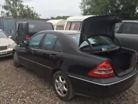 Mercedes Benz C Class Diesel 2003 year - Spare Parts Available