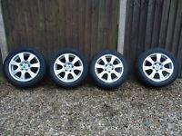 Winter tyres Goodyear Ultragrip7 on VW Skoda Audi Seat alloys