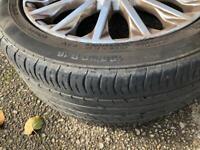 Original Ford Fiesta alloy wheels spare tyre 15 spoke