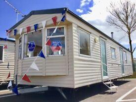 Modern 3 bed Static Caravan & 3 years site fees INCLUDED atSeawick clacton essex suffolk kent sussex