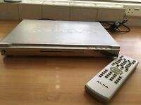 Alba DVD player and remote control - excellent condition, hardly used