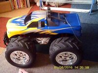 A Monster 4x4 need a Battery and a \Gharger