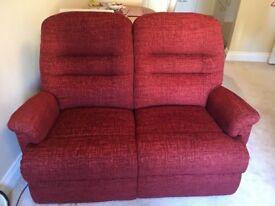 Sherborne Keswick 2-seater sofa & 2 reclining armchairs