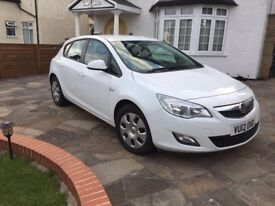 Vauxhall Astra 1.3 Exclusive CDTI EFLEX (12 Plate)