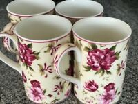 Royal Albert 4 mugs
