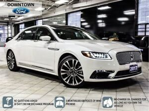 2017 Lincoln Continental RESERVE | PANO ROOF | TECH PKG