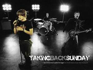 Taking Back Sunday Tickets (sydney show) Kareela Sutherland Area Preview