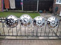 16in chrome wheel trlms