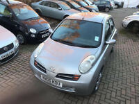 2005 NISSAN MICRA 1.4 AUTOMATIC 5 DOOR with Parking Sensors