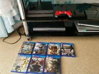 Ps4 with 7 games and controller