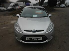 ford fiesta 1388cc- 2009-59 reg new mot upon purchase, all vans and cars reduced !!