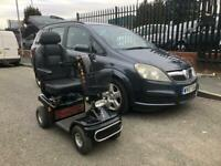 Mobility Scooter and Converted Vauxhall Zafira