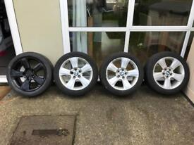 BMW X3 Alloy Wheels with tyres