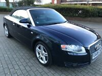 Audi A4 Cabriolet 2006 (06 reg), Convertible 2.0 TFSI Sport Cabriolet Multitronic 2dr2,850 ovno for sale  Barking, London