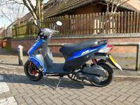 A9 Flight AJS 125cc scooter