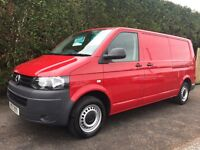 2012 Volkswagen transporter t30 140 tdi lwb finance available