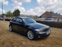 2010 BMW 118D M SPORT,6 SPEED MANUAL,30£ TAX,12 MONTHS MOT,2 KEYS,1 FORMER KEEPER,07522564844