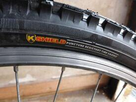 shogun gatecrasher mountain bike v brakes ,punture resistance tyres