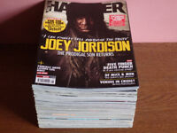 A selection of Metal Hammer magazines (with a bonus or two of Kerrang!).