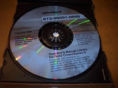 Factory Issued King Gold Crown Series III Avionics Pilot's Operator's Manual CD