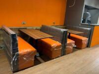 Bench seating booth seating bespoke