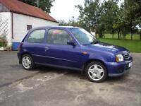 2002 Nissan Micra 998cc manual hatchback good condition. Mot'd to Apr 2017. 1 lady owner from new.