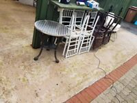 Table and chairs to get rid off