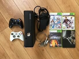 Xbox 360 Elite 250GB + games